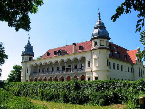 Zwiedzanie Pałacu w Krobielowicach